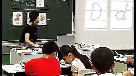 小学英语字母教学(人教版)优质课教学实录
