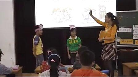 优质课视频 小学英语语音语法教学研讨会公开课课例1