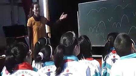 小学五年级音乐优质课视频《如今家乡山连山》_孙瑞君