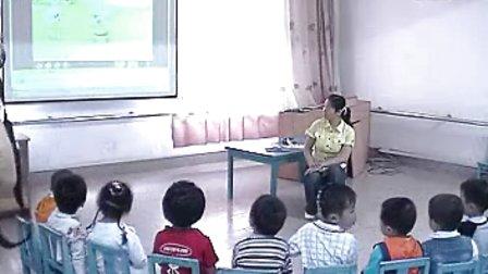 幼儿园小班语言优质课视频展示《小猪变干净了》_柏老师