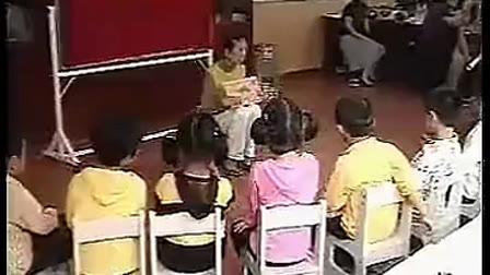 幼儿园大班语言优质课视频展示《小树叶给大树妈妈的一封信》_陈老师