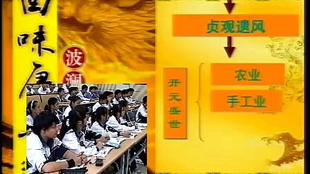 《盛唐气象》人教版初二历史与社会优质课视频实录