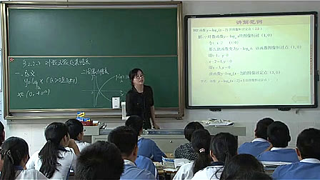 《数学函数的对数与图像》性质高中教学课例-忙游戏视频图片