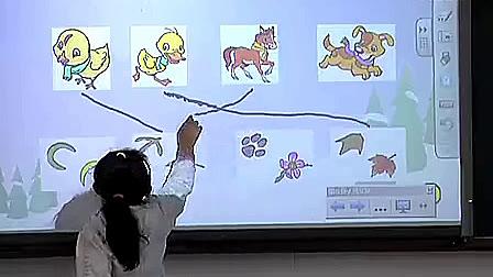 《雪地里的小画家》小学语文优质课视频(第二届SMART杯交互式电子白板教学应用大奖赛一等奖优质课例)