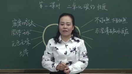 粤教版化学九上《二氧化碳的性质》课堂教学视频-沙靖-特级教师优质课
